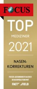 FOCUS Top-Mediziner 2021 Nasen-Korrekturen