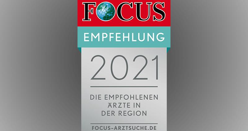 FOCUS Arzt der Region 2021
